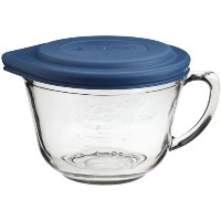 Anchor Hocking 2 Quart Glass Batter Bowl With Lid by Anchor Hocking