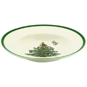 Spode Christmas Tree Soup Plate, Set of 4 by Spode