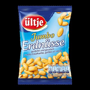 ultje peanuts - ultjeピーナッツ - Jumbo-peanuts, roasted and salted 200 g - 7,05 oz - ジャンボピーナッツ...