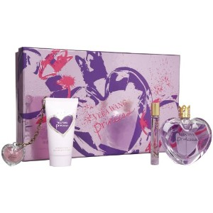 ヴェラウォン Princess Coffret: Eau De Toilette Spray 100ml + Satiny Body Lotion 75ml + Lip Gloss Keychain...