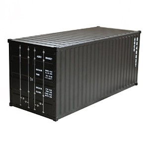 アンドグラッド Metal Container Multi Box Matte Black 20328