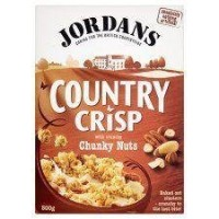 Jordans Country Crisp with Chunky Nuts (500g) by Groceries [並行輸入品]