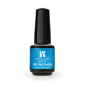 Red Carpet Manicure - LED Nail Gel Polish - Designer Series - Shimmering Gown - 0.3oz / 9ml