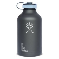 【並行輸入】Hydro Flask Insulated Stainless Steel Wide Mouth Water Bottle and Beer Growler, 64-Ounce...