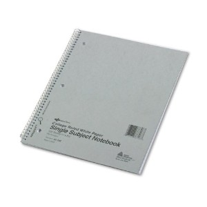 Subject Wirebound Notebook, College/Margin Rule, Ltr, WE, 100 Sheets/Pad (並行輸入品)
