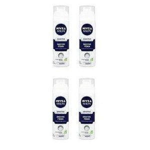 Nivea For Men Sensitive Shaving Foam 200Ml - by Nivea for Men