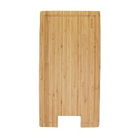 BambooMN Brand Bamboo Griddle Cover/Cutting Board for Viking Cooktops, New Vertical Cut, Small (10...