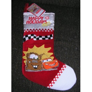 Disney Cars Lighning McQueen and Mater Musical Christmas Stocking by Disney [並行輸入品]