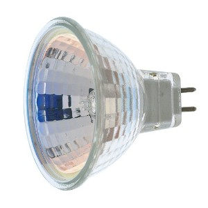 Satco S4185 1/Card 12V 10-Watt MR16 GX5.3 Base Light Bulb with NFL 38 Beam Pattern with No Lens by...