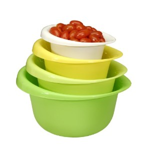 Cook Pro 4 piece Mixing Bowl Set by Cook Pro
