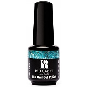 Red Carpet Manicure - LED Nail Gel Polish - Trendz - Blue Jade Shoes - 0.3oz / 9ml