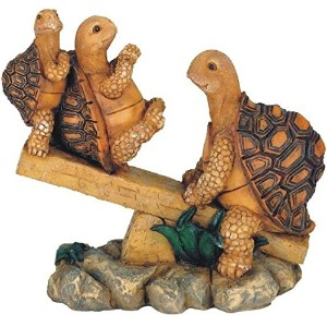 George S. Chen Imports SS-G-61058, 3 Turtles On Seesaw Garden Decoration Collectible figure Statue Model by George S. Chen Imports