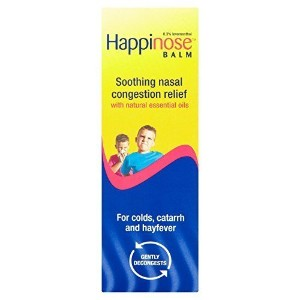 6 x Happinose Balm Soothing Nasal Congestion Relief 14g by Happinose