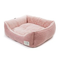 [roomnhome] リーフペットクッション ペットクッション ペットマット ペット用品 (M, Pink)