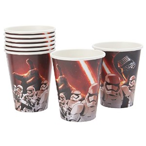 Star Wars VII 9 oz. Paper Cups スターウォーズVII 9オンス紙カップ♪ハロウィン♪クリスマス♪