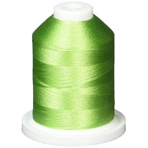 Rayon Super Strength Thread Solid Colors 1100 Yards-Pastoral Green (並行輸入品)