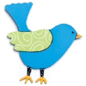 Embellish Your Story Blue Bird Magnet - Embellish Your Story Roeda 12471-EMB by Embellish Your Story