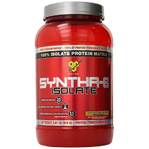 BSN SYNTHA-6 ISOLATE - Chocolate Peanut Butter, 2.0 lb (24 servings) 海外直送品