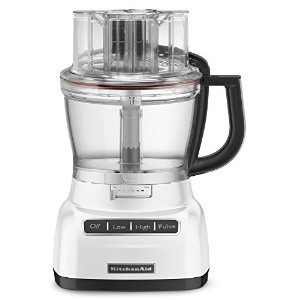 KitchenAid KFP1333WH 13-Cup Food Processor with ExactSlice System - White by KitchenAid