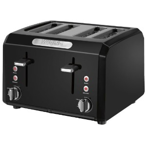Waring CTT400BK Professional Cool Touch 4-Slice Toaster, Black by Waring