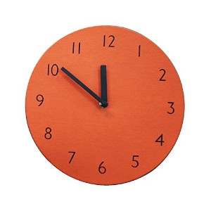 SANDWICH CLOCK RETORO ORANGE