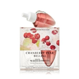 BathボディWorksクランベリーPear Bellini Wallflowers Home Fragrance Refills 2電球