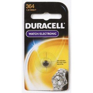 4 each: Duracell Silver Oxide Watch/ Calculator Battery (D364BPK) by Duracell Div. of P & G [並行輸入品]