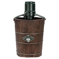 White Mountain PBWMIME412-SHP Appalachian Series Wooden Bucket 4-Quart Electric Ice Cream Maker by...