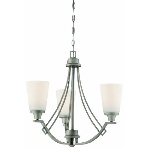 Thomas Lighting 190109718 Wright Chandelier, Antique Pewter by Thomas Lighting