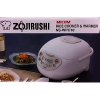 Zojirushi Rice Cooker & Warmer (Ns-wpc10 5.5 Cups) by Zojirushi