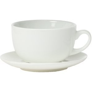 Revolution Ware 12oz Latte Cup and Saucers Set of 6 by Revolution