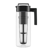Takeya Flash Chillテつョ Iced Tea Maker (2 Quarts, Black) by Takeya