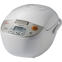 Zojirushi NL-AAC10 Micom Rice Cooker (Uncooked) and Warmer, 5.5 Cups/1.0-Liter by Zojirushi