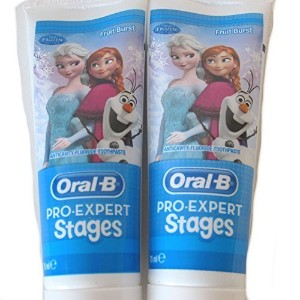Oral B Pro Expert Stages Disney Frozen Toothpaste 75 ml by Braun