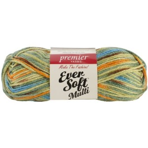 Premier Yarns Ever Soft Multi 毛糸 極太 マルチカラー 70g 約119m