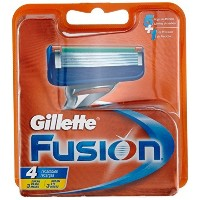 Gillette Fusion Manual Blades- 4 Pack by Fusion [並行輸入品]