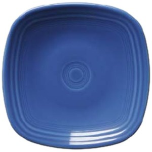 Fiesta Square Salad Plate, 7-1/2-Inch, Lapis by Homer Laughlin