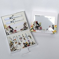 Nano BELL Manicure Sets BN-2200 爪の管理セット ナノシルバー爪切りセット 高品質のネイルケアセット高級感のある東洋画のデザイン Nail Clippers Nail...