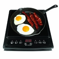 Big Boss 9147 1300-watt Induction Cooktop Compatible with Induction Cookware, Black by Big Boss