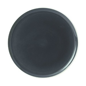 "Royal Doulton Bread Street Round Platter, 12"", Slate Gray by Royal Doulton [並行輸入品]"