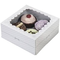 Frills and Frosting Cake Box
