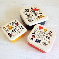 Mickey Mouse ミッキーマウス seal lunch box 3in1 / フレンズ