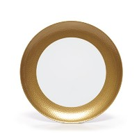 Mikasa Hammersmith Dinner Plate, 10.5, Gold by Mikasa