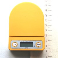 AND デジタルホームスケール 3kg イエロー