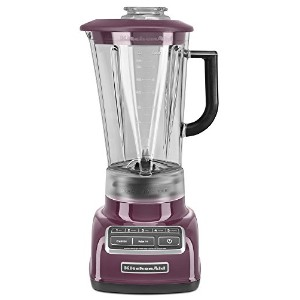 KitchenAid KSB1575BY 5-Speed Diamond Blender with 60-Ounce BPA-Free Pitcher - Boysenberry by...