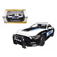 Maisto 1:18 2015 Ford Mustang Police Diecast Vehicle [並行輸入品]