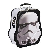 Lunch Box - Star Wars - Stormtrooper Shaped Tin Tote Toys Licensed 99370