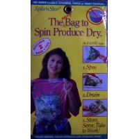 Spin 'n Stor Reusable Salad Spinning Bags (2 pack) by Spin 'N Stor