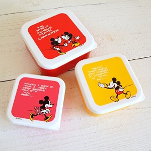 Mickey Mouse ミッキーマウス seal lunch box 3in1 / ミッキー&ミニー