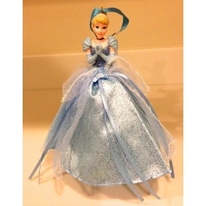Disney Parks Cinderella Figurine Gown Christmas Holiday Ornament NEW by Disney [並行輸入品]